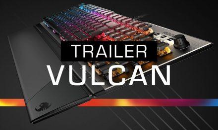 ROCCAT Vulcan, su nuevo teclado con conmutador de titanio táctil
