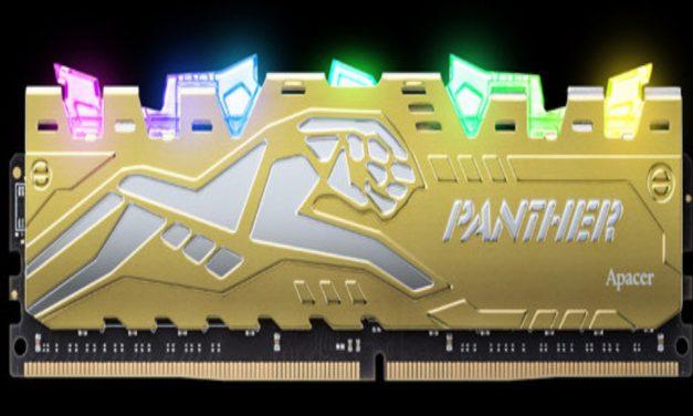 Apacer PANTHER RAGE DDR4 RGB: Que tiemble la competencia