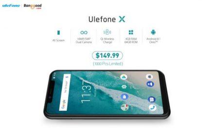 ULEFONE X ALL-SCREEN DISPONIBLE POR SOLO $149.99