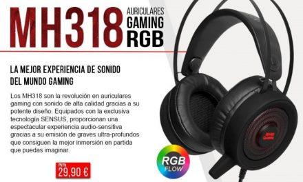 MH318: La revolución en auriculares gaming