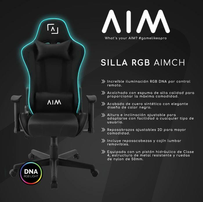 Silla RGB AIMCH de AIM