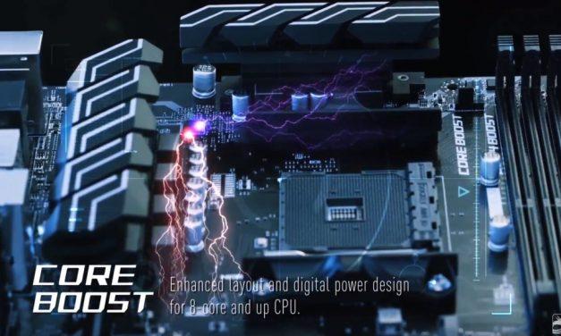 MSI suelta las primeras placas para CPU de 8 núcleos