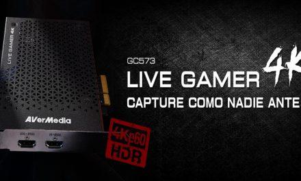 AVerMedia Live Gamer 4K, la nueva capturadora de gama alta