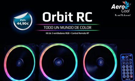 Kit OrbitRC de Aerocool: ¡Color sin límites!