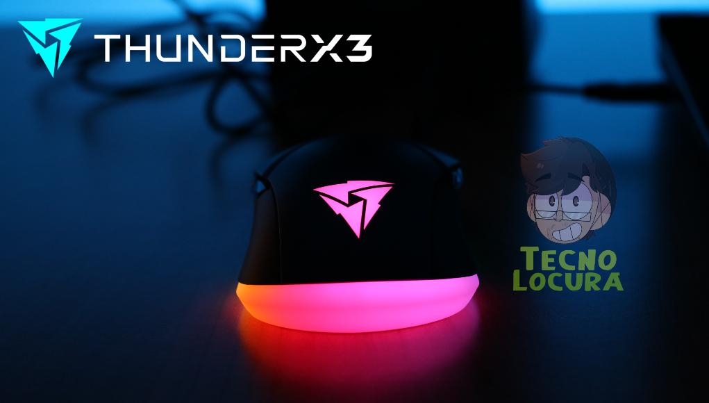 [Review] ThunderX3 AM7: el mejor ratón ambidiestro