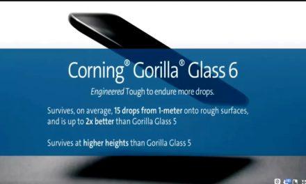 Corning Gorilla Glass 6 ayudará a sobrevivir 15 caídas