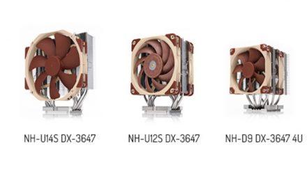 Noctua presenta silenciosos refrigeradores de CPU para plataformas LGA3647 Intel Xeon