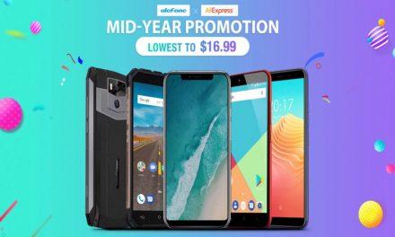 Ulefone trae los mayores descuentos del año: móviles desde 16.99$
