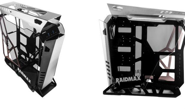Raidmax X08, nuevo chasis al aire libre tipo torre