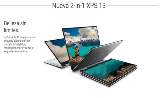 Nuevos Dell XPS 13, 2-en-1 con Amber Lake CPU