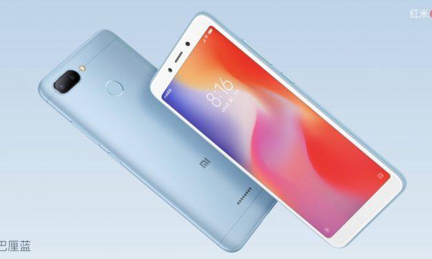 Xiaomi Redmi 6A sale a la venta el 10 de julio por 105$