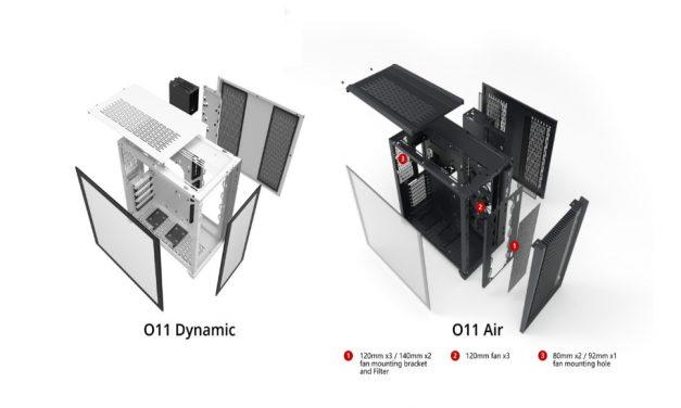 Lian Li PC-011 Air Chassis: Libere el flujo de aire máximo