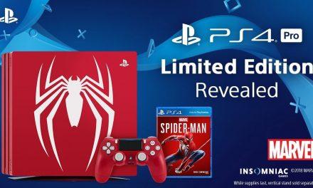 Sony lanza PlayStation 4 Pro edición limitada de Spiderman