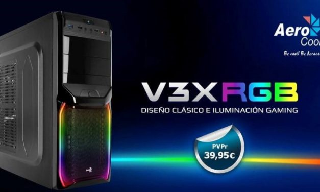 V3XRGB: Diseño clásico con iluminación gaming