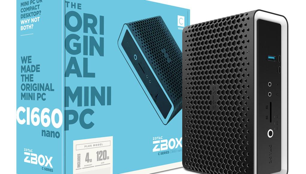 ZOTAC anuncia las mini PC ZBOX C-series