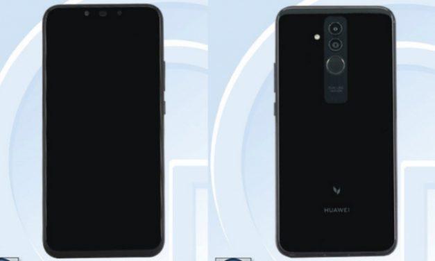 TENAA revela diseño de Huawei Mate 20 Lite