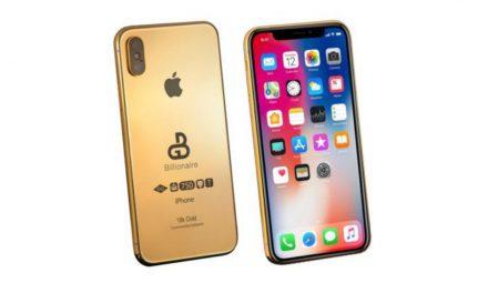 IPHONE XS DE 24 QUILATES CHAPADO EN ORO VALE 127.000$