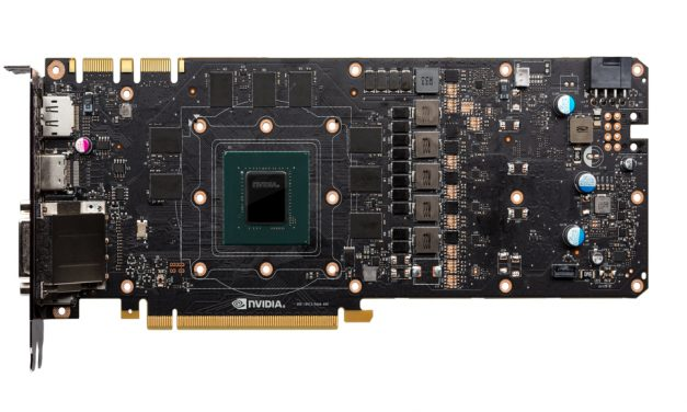 PCB de NVIDIA GeForce GTX 1180 filtrado