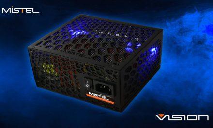 Mistel Vision MX Series: PSU sin ventilador y con iluminación RGB