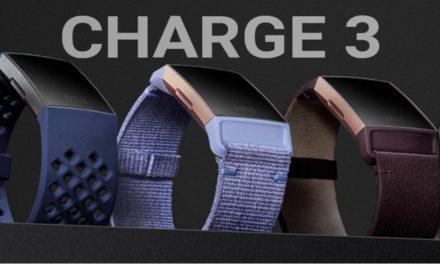 Fitbit Charge 3: precio y fecha de lanzamiento