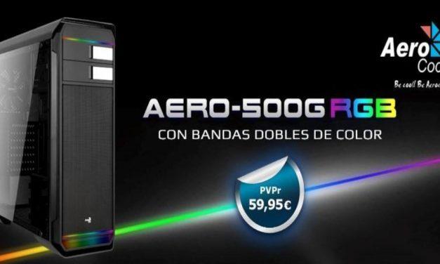 Minimalista y profesional: AERO500GRGB de AeroCool