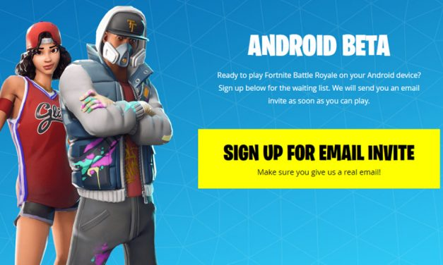 Fortnite Android BETA, ya puedes registrarte