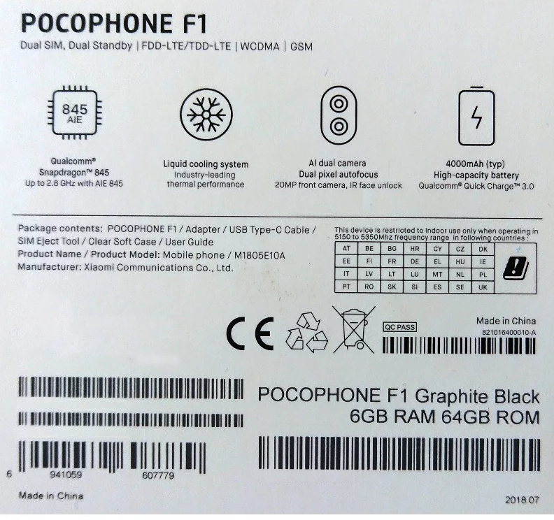 Especs Pocophone F1