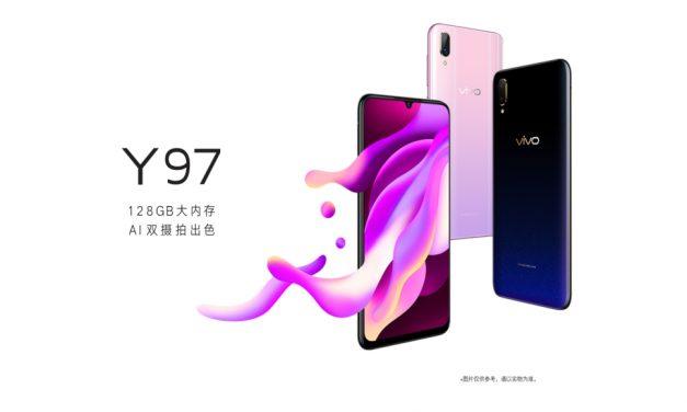 Vivo Y97, otro móvil con pantalla formato gota de agua