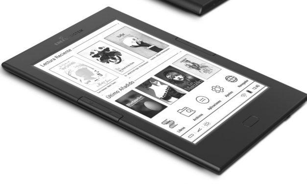 Energy eReader Pro 4 con pantalla táctil, luz integrada y Wi-Fi