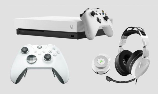 Xbox One X Fallout 76 Bundle. La primera Xbox One X blanca