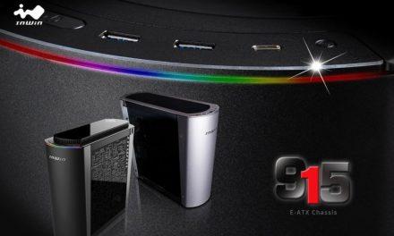 InWin 915, nuevo chasis curvo de la serie Premium