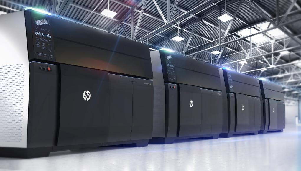 Tecnología de impresión 3D para producción de piezas metálicas - HP Metal Jet