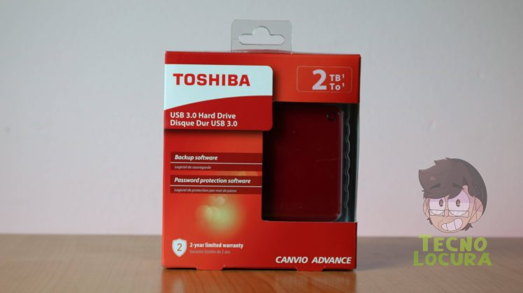 Toshiba Canvio Advance 2 TB