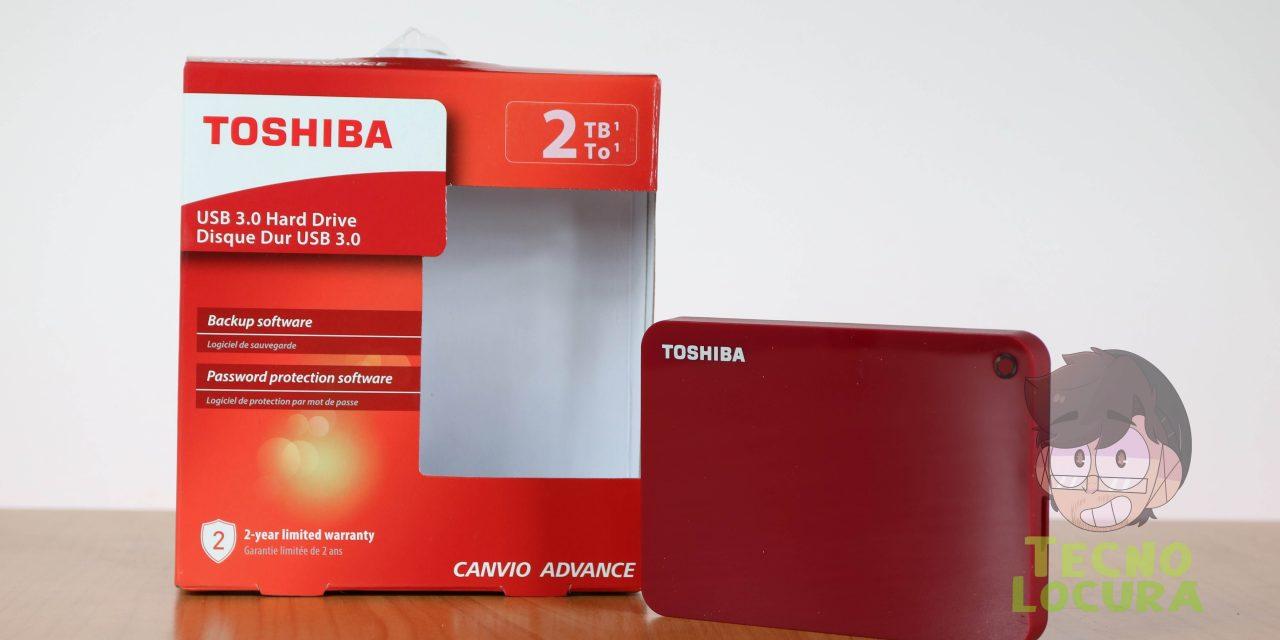 Toshiba Canvio Advance 2 TB a REVIEW