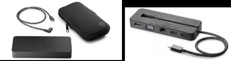 HP Spectre Power Bank y la HP Spectre USB-C Travel Dock