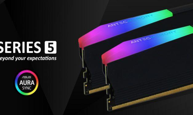 Antec Memory 5 Series RGB, la nueva y renovada RAM de Antec