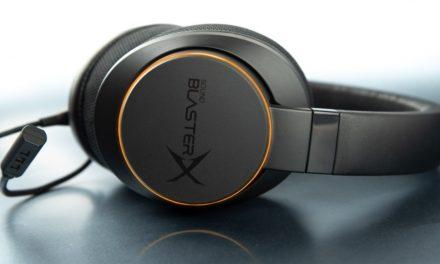 Sound BlasterX H6 con RGB y 7.1 completamente virtual