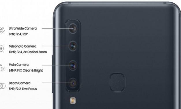 Samsung Galaxy A9: Explicación de sus 4 CÁMARAS traseras
