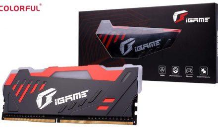COLORFUL iGame D-RAM DDR4: la nueva memoria RAM gaming