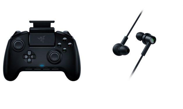 Razer Raiju Mobile y RAZER HAMMERHEAD USB-C presentados