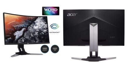 Acer XZ1, nueva serie de monitores curvos FreeSync con 144 Hz