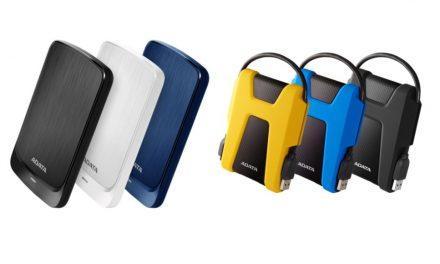 ADATA lanza los discos duros externos HD680 y HV320
