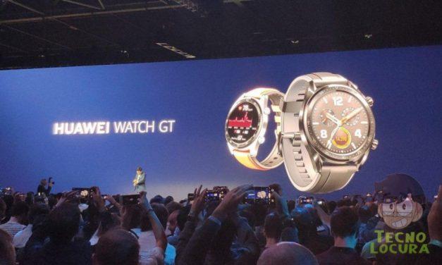 Huawei Watch GT y Huawei Band 3 Pro se presentan oficialmente