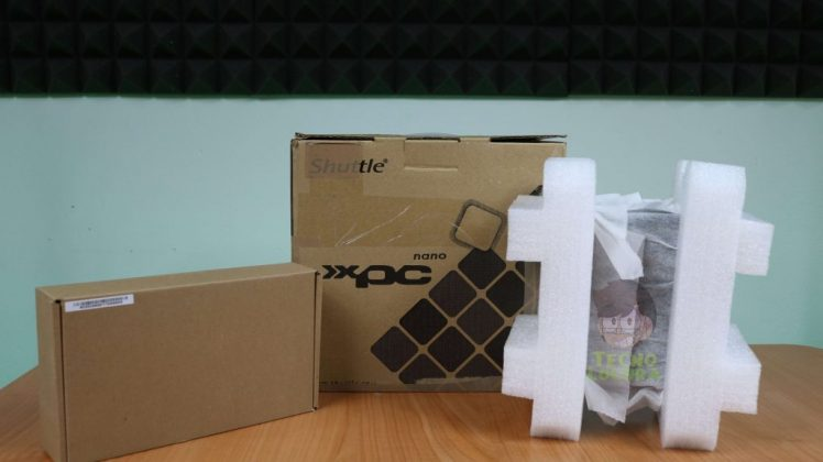 SHUTTLE XPC nano NC03U3