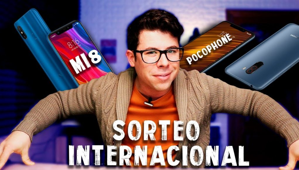 SORTEO INTERNACIONAL Xiaomi Mi 8 Azul + Pocophone F1 Azul