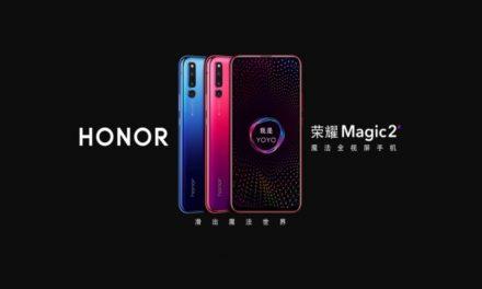 Honor Magic 2 con SEIS CÁMARAS se hace oficial
