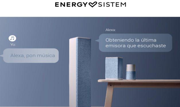 Energy Sistem lanza tres productos con Alexa integrada
