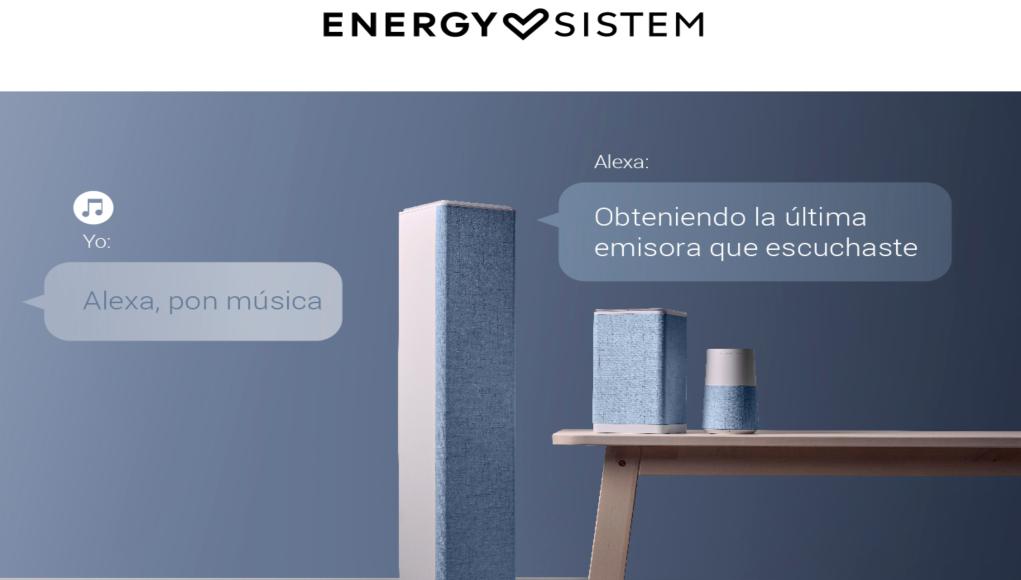 Energy Sistem con ALEXA