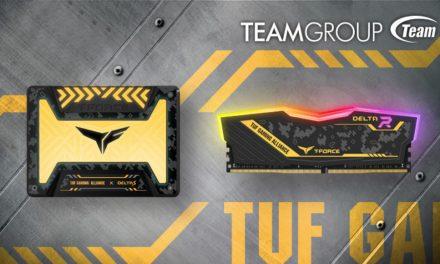 TEAMGROUP Gaming RGB SSD y RGB Memory TUF Gaming