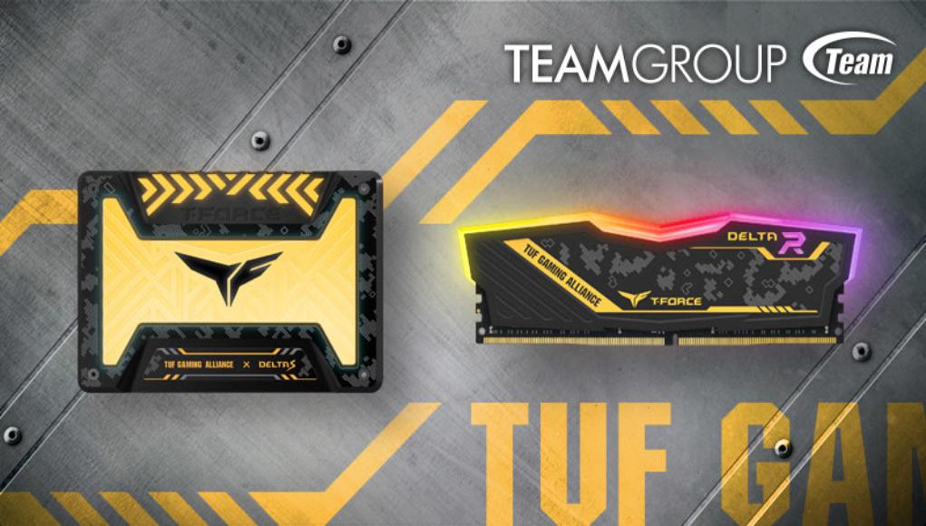 TEAMGROUP Gaming RGB SSD y RGB Memory